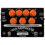 Orange Custom Shop Bax Bangeetar Guitar Pre-EQ Effects Pedal, Black