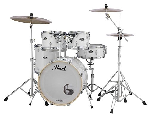 Pearl Export 5-pc. Drum Set w/830-Series Hardware Pack, PURE WHITE, inch (EXX705N/C33)