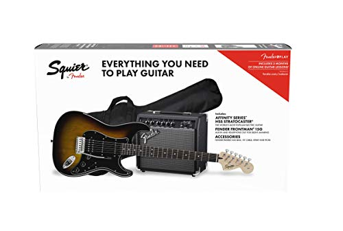 Squier by Fender Affinity Stratocaster Beginner Pack