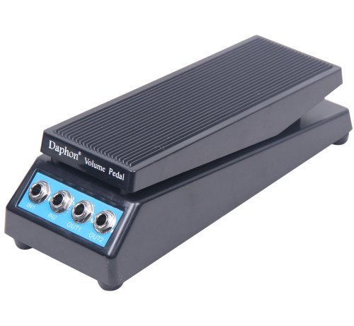 Signstek Guitar Stereo Sound Volume Pedal DJ Band Guitar Pedal with Amplitude Adjusted Knob
