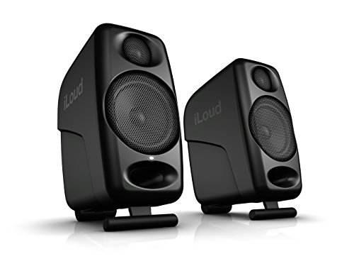 IK Multimedia iLoud Micro Monitors ultra-compact 3' studio monitors with bluetooth - IP-ILOUD-MM-IN