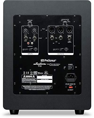 PreSonus Temblor T10 Powered Studio Subwoofer