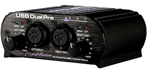 ART USB Dual Pre 2-Channel Audio Interface Preamplifier
