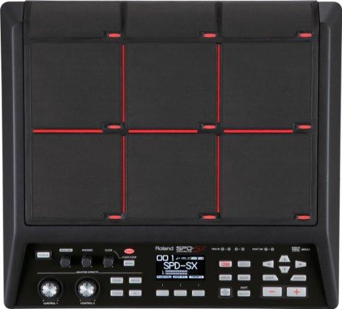 Roland SPD-SX Percussion Sampling Pad with 4GB Internal Memory, Black