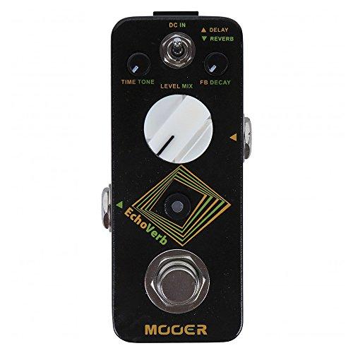 Mooer Audio Micro Echoverb Digital Delay & Reverb Effect Pedal