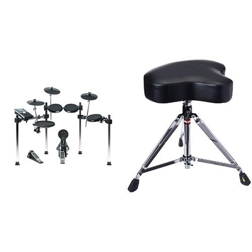 Alesis Forge Kit | Eight-Piece Electronic Drum Set with Forge Drum Module and USB Port for User-Loaded Samples