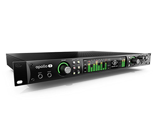 Universal Audio Apollo 8 Thunderbolt Audio Interface with Quad Processing
