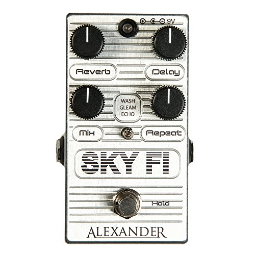 Alexander Pedals Sky FI Delay and Reverb Pedal