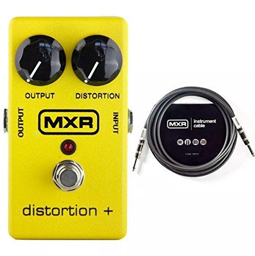 MXR M-104 Distortion+ Bundle MXR 10ft Instrument Cable