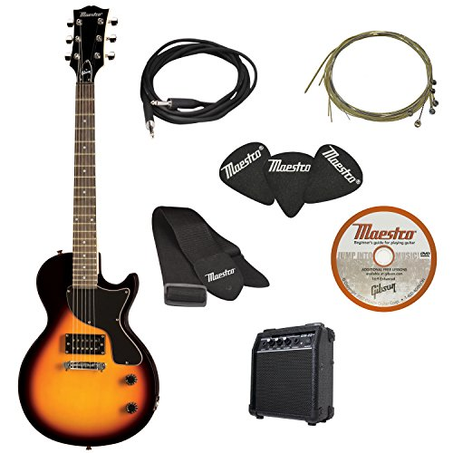 Maestro by Gibson Electric Guitar Starter Package, Vintage Sunburst