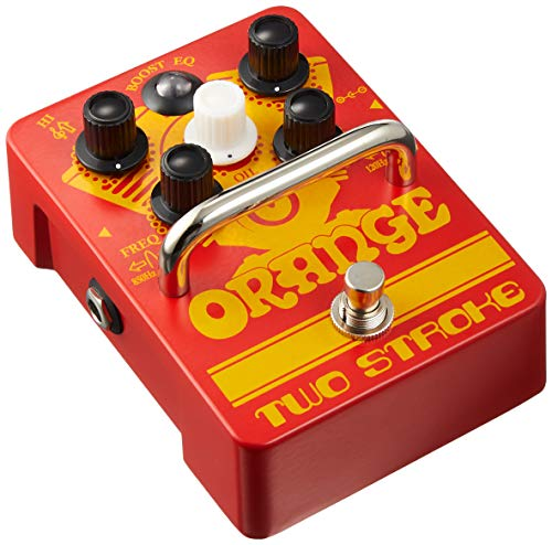 Orange Two Stroke Active Dual-Parametric EQ/Boost Guitar Effects Pedal