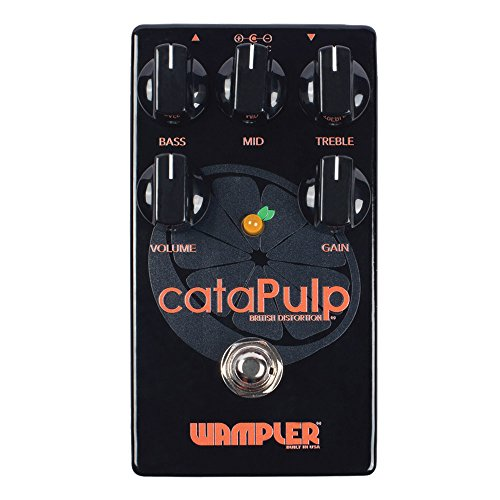 Wampler cataPulp V2 British Stack Tone Guitar Effects Pedal