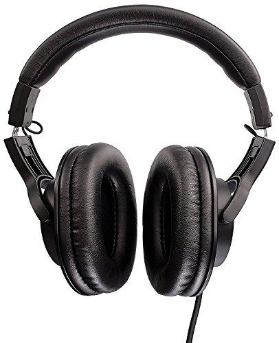 Audio-Technica ATH-M20x Professional Studio Monitor Headphones, Black