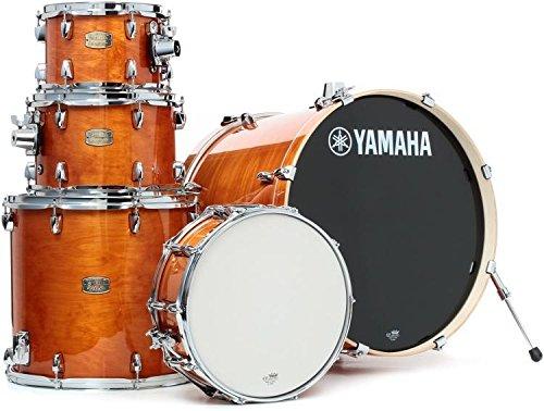 Yamaha Stage Custom Birch 5pc Drum Shell Pack - 22' Kick, Honey Amber