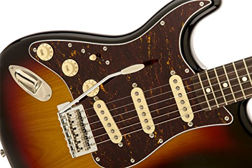 Squier 303019500 by Fender Classic Vibe 60's Left Hand Stratocaster Electric Guitar - 3-Color Sunburst - Rosewood Fingerboard