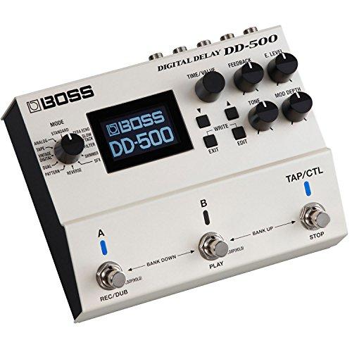 BOSS Digital Delay Guitar Pedal (DD-500)