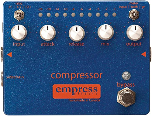 Empress Effects Compressor Analog Compression Guitar Effects Pedal
