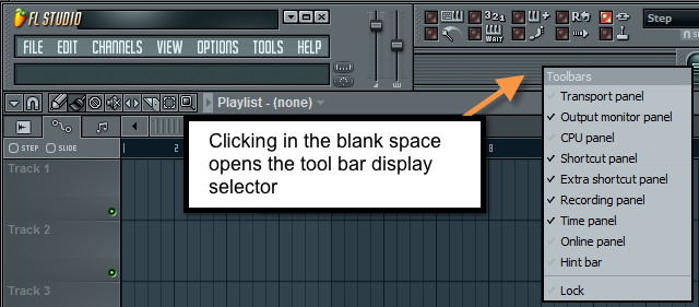 FL Studio Customize tool bar.png