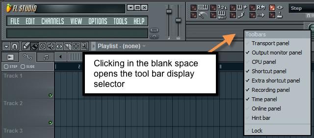 FL_Studio_Customize_tool_bar