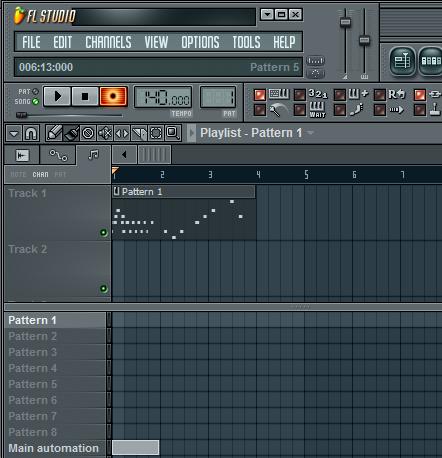 FL_Studio_simple_MIDI_track_recording