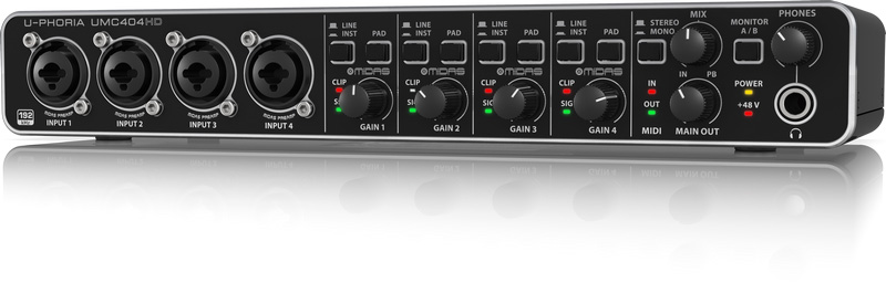 BEHRINGER Audio Interface, 4-Channel (UMC404HD)