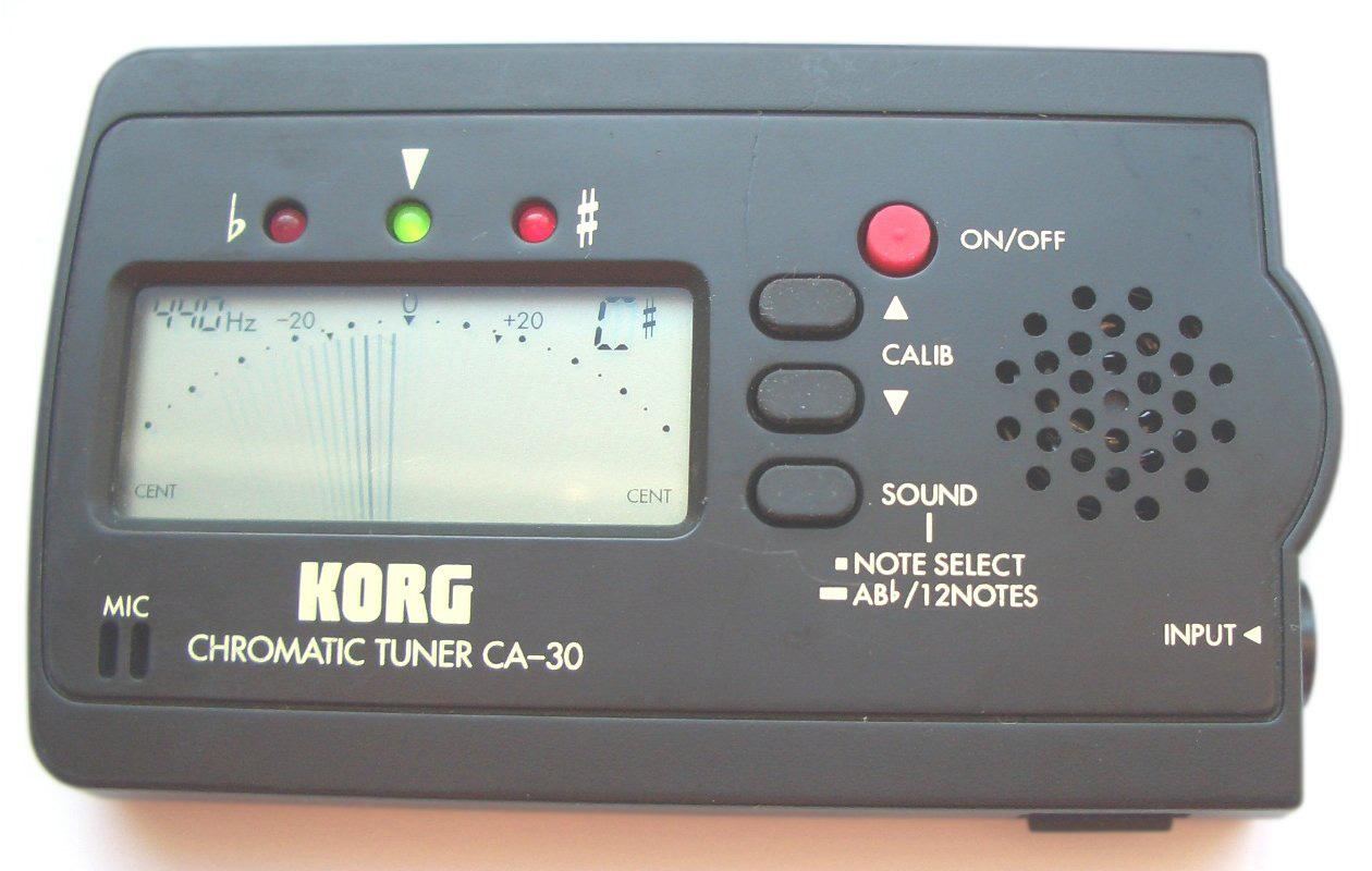 Chromatic LCD Tuner