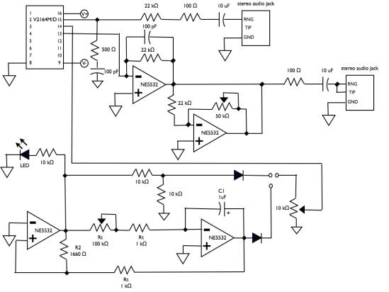 tremolo analog schematic