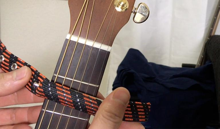strap capo electric guitar